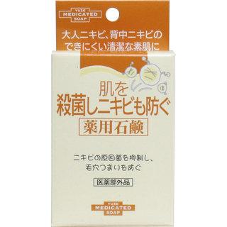 ユゼ 肌を殺菌しニキビも防ぐ 薬用石鹸