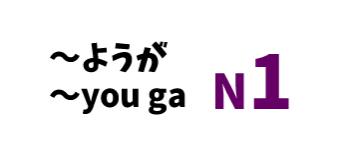 ~ようが ~you ga
