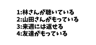 JLPT N4 日本語能力試験N4級読解練習 1