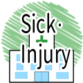 Sick・Injury ( with audio)