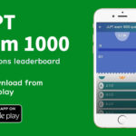 JLPT exam 1000 questions leaderboard/日本語能力試験対策アプリ紹介