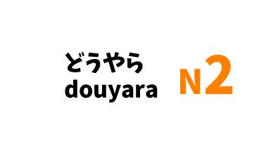 【N2】どうやら /douyara