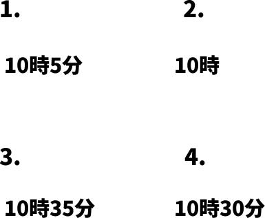 JLPT N4 日本語能力試験N4級聴解練習 125: