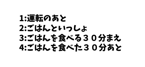 JLPT N4 日本語能力試験N4級読解練習5